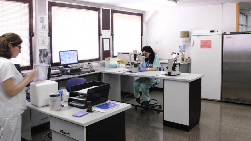 Profesionales del Biobanco del Instituto de Investigación Sanitaria del Hospital de Getafe