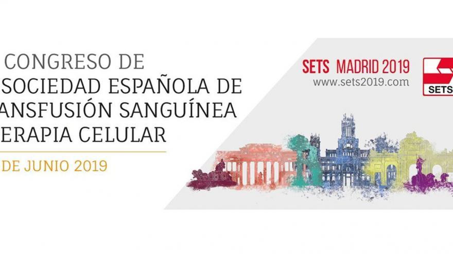 Imagen del Congreso con el logo y la ilustración de edificios emblemáticos de Madrid