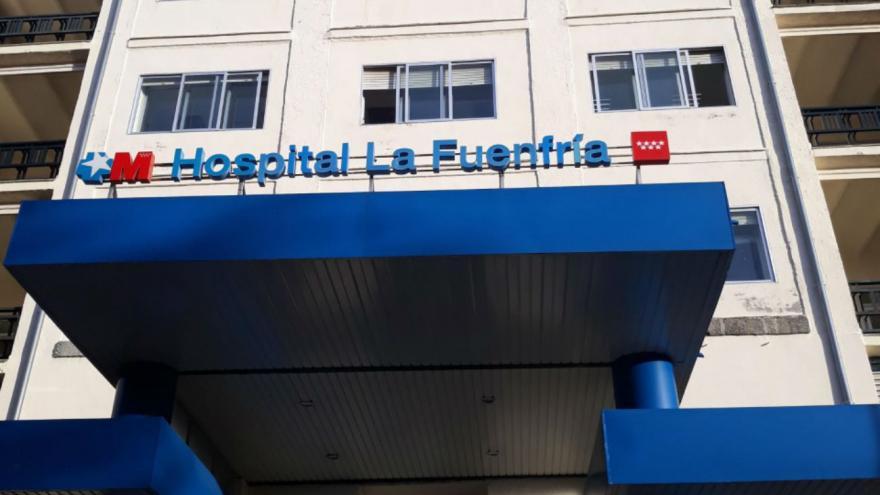 Entrada Hospital La Fuenfria