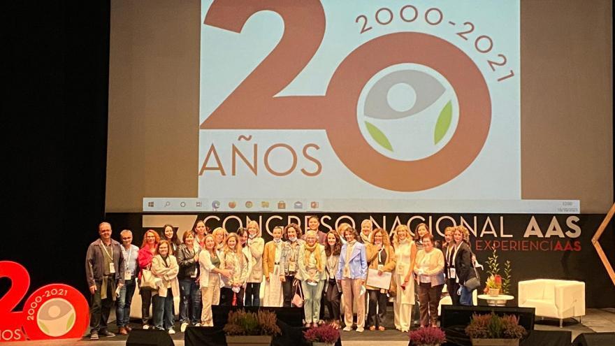 Participantes del Congreso Nacional de Administrativos de la Salud