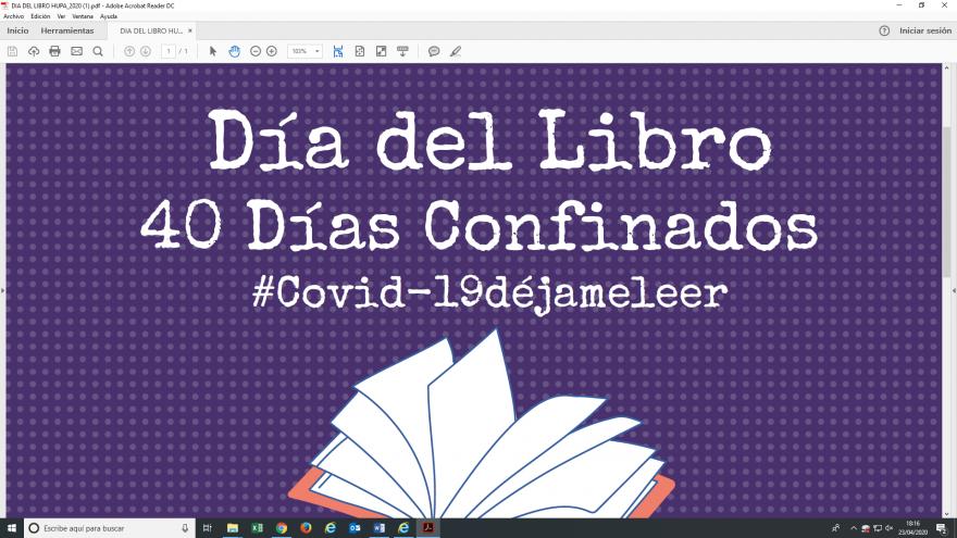 Dia del Libro en el Hospital Príncipe de Asturias