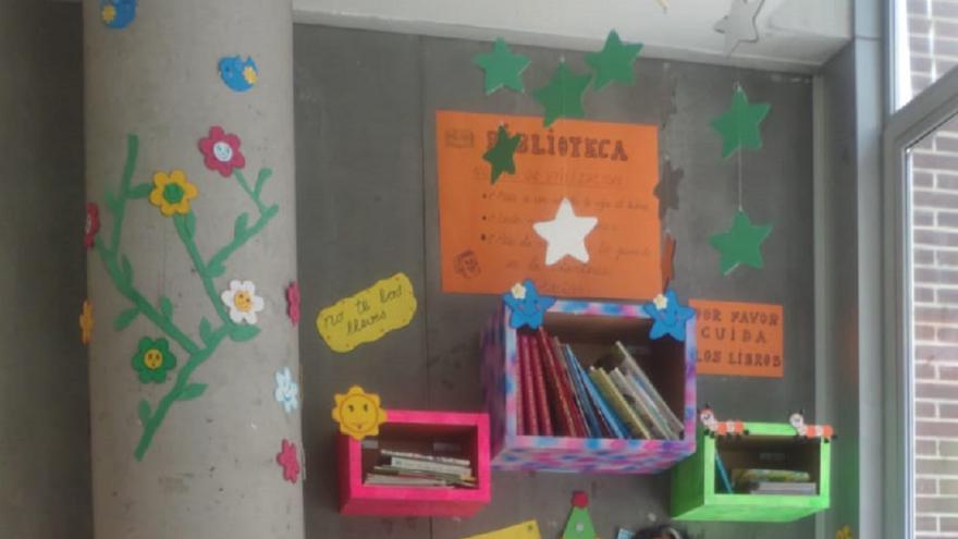 Biblioteca en Centro de Salud Peña Prieta
