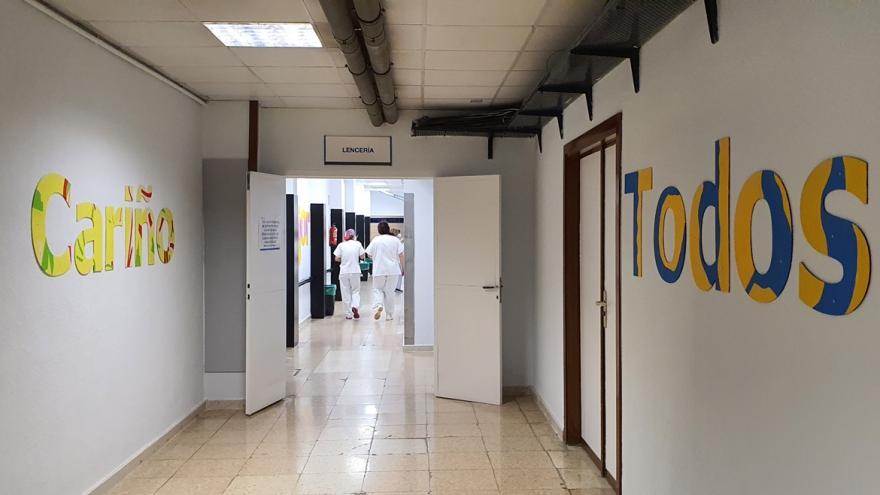 decoración pasillo Lencería