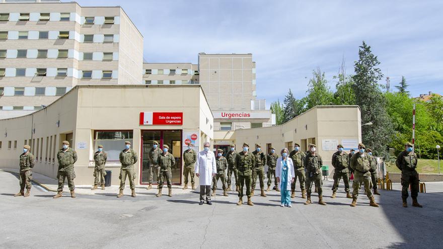 fachada urgencias hospital gregorio marañon