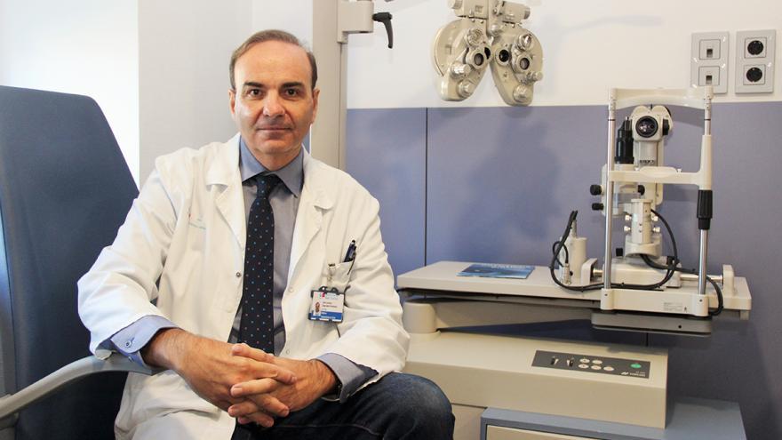 José Antonio Gegúndez, oftalmólogo del Hospital Clínico San Carlos