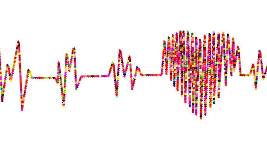 Dibujo de electrocardiograma