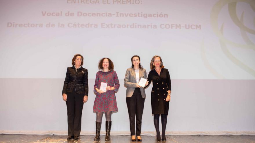 Una farmacéutica del Hospital Universitario Infanta Leonor, Premio Tesis Doctoral de la UCM y el Colegio de Farmacéuticos de Madrid
