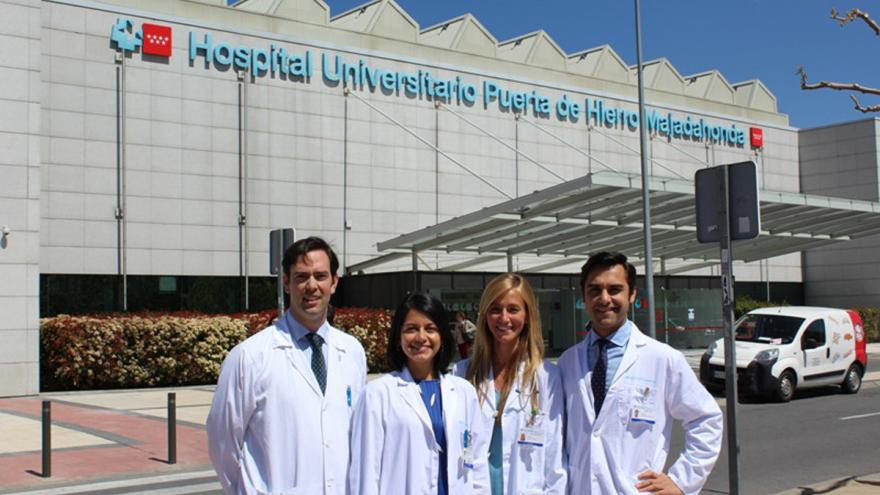 Cardiologos y oncologos del Hospital Puerta de Hierro
