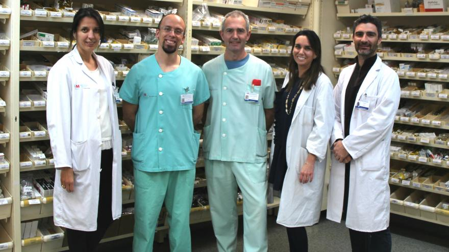 Equipo Farma OPERA del Hospital de Fuenlabrada