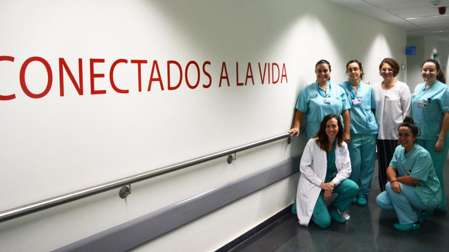 Servicio de Nefrología del hospital