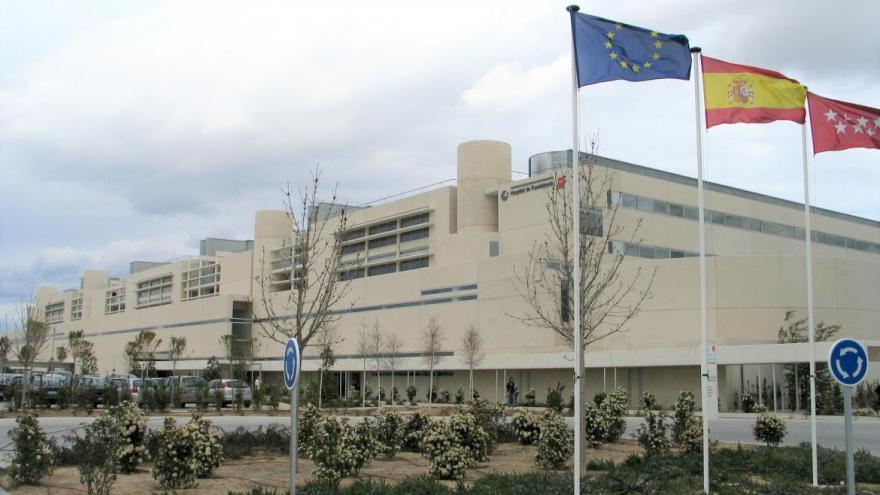 Fachada del Hospital Universitario de Fuenlabrada