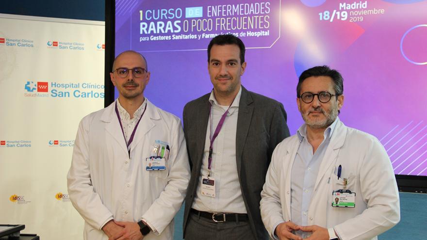 Inauguración del curso de enfermedades raras en el Hospital Clínico