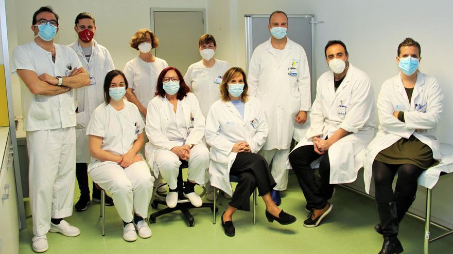 Equipo de investigadores del Hospital Clínico San Carlos
