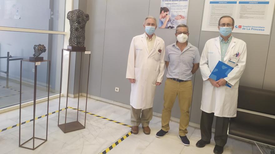 Inauguración de las esculturas