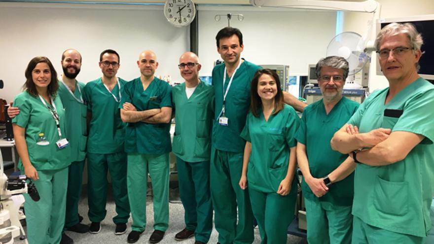 Equipo de profesionales Unidad de Endoscopias del Hospital Universitario Puerta de Hierro Majadahonda