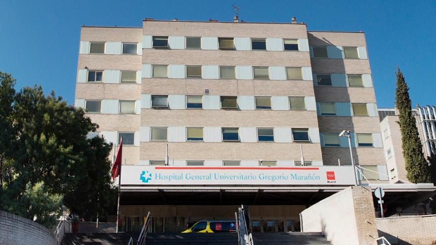 Hospital General Universitario Gregorio Marañon. Fachada principal