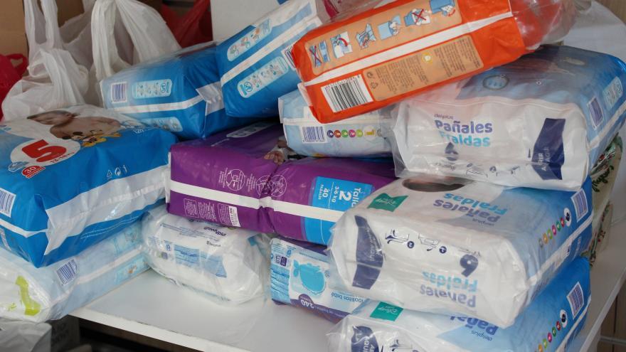 Jornada solidaria de donación de productos de primera necesidad para las familias vulnerables de Parla