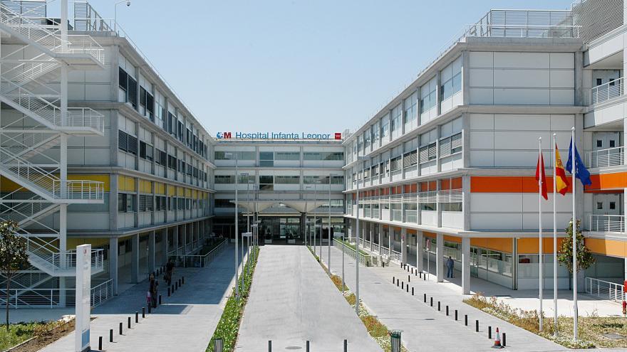 Hospital Universitario Infanta Leonor_ Fachada principal