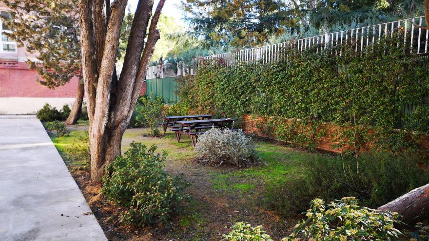 Jardines del Instituto Psquiatrico Jose Germain en Leganés, Madrid