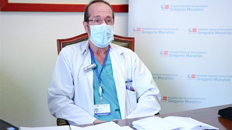 profesional del hospital gregorio marañón
