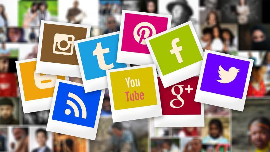 Logotipos de las redes sociales más utilizadas