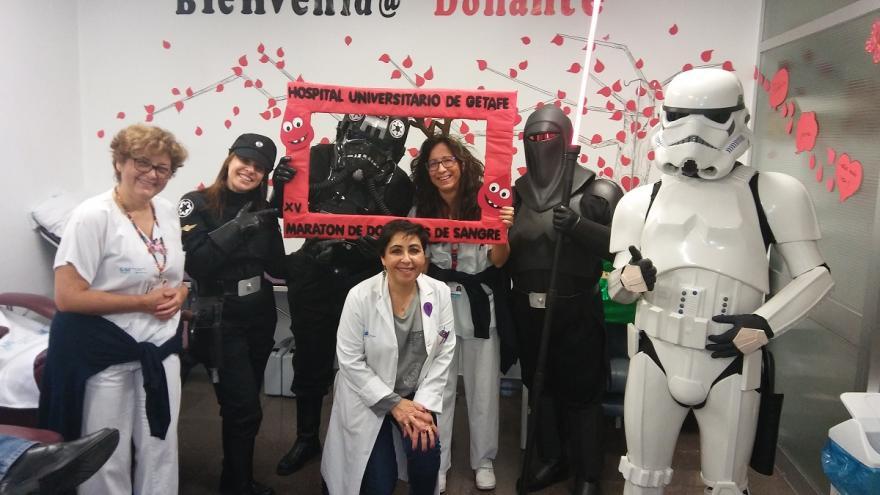 La Legión 501 de Stars Wars ha animado a la donación de sangre