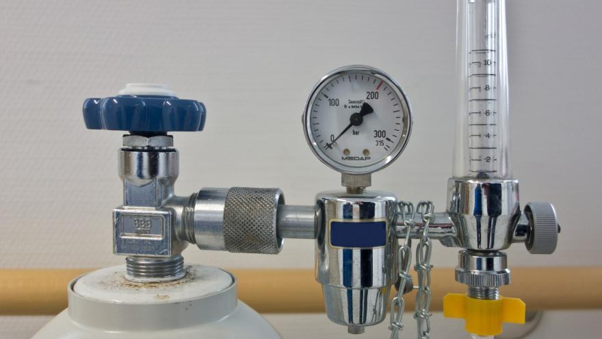 Regulador de botella de oxígeno