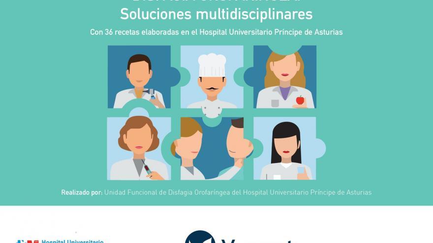 """Portada del manual """"Disfagia Orofaríngea: Soluciones Multidisciplinares"""""""
