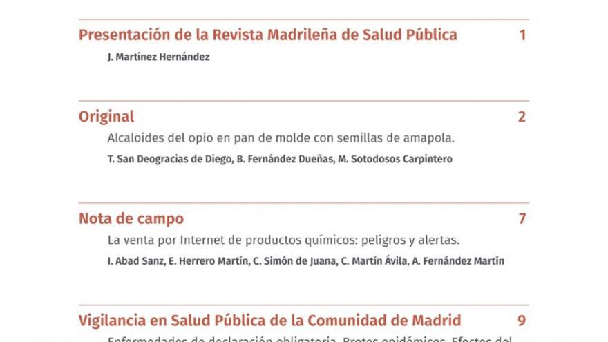 Revista Madrileña de Salud Pública, REMASP