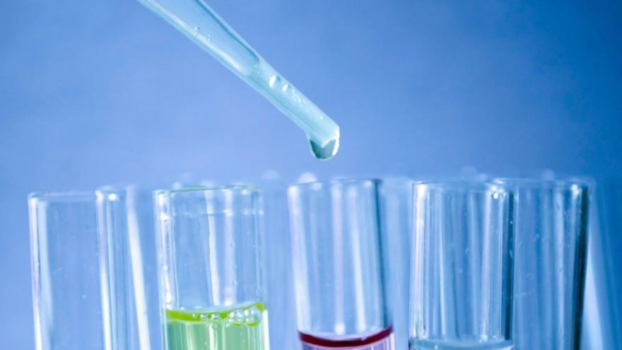Tubos de ensayo de laboratorio