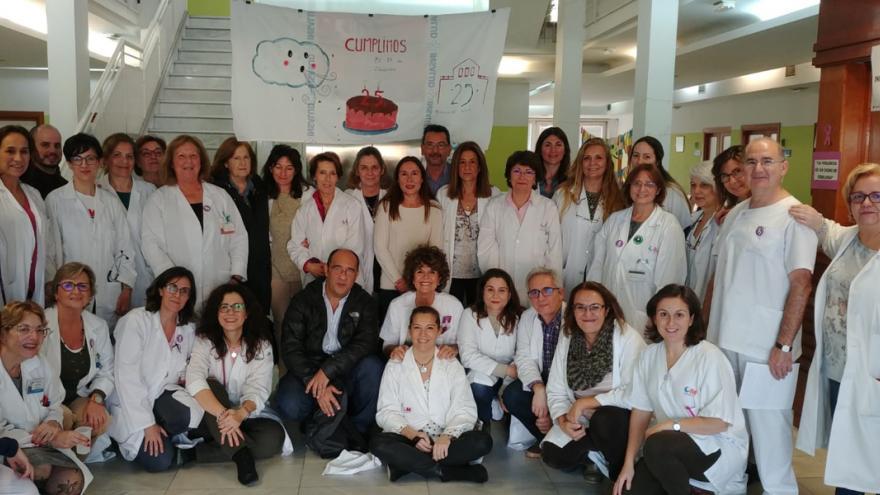 Profesionales del Centro de Salud Beníta Avila