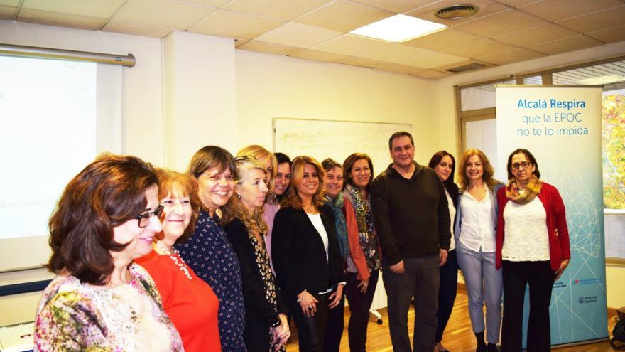 Profesionales de Atención Primaria de Alcalá de Henares y del Hospital Príncipe de Asturias ponen en marcha un proyecto educativo dirigido a la población con EPOC