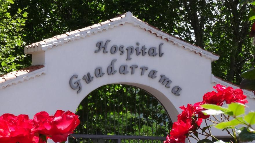 Entrada del Hospital