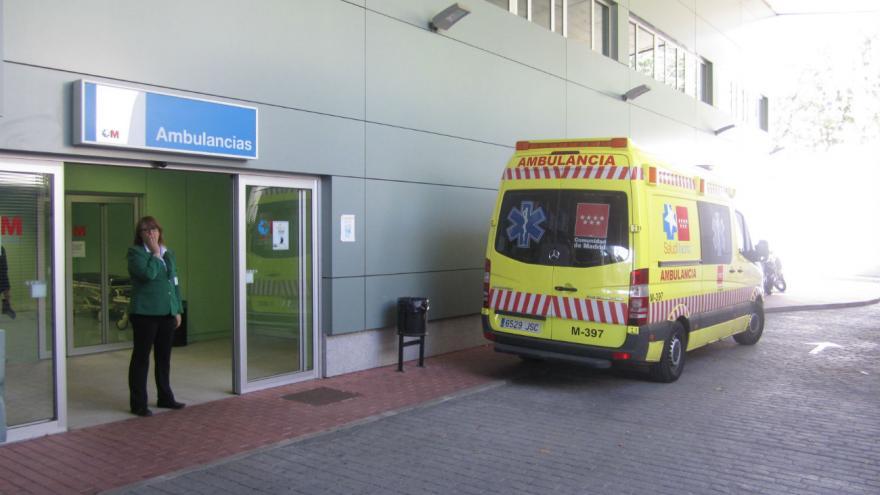 Acceso Urgencias Hospital El Escorial