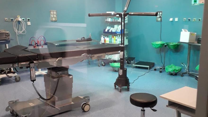 Desinfección con luz ultravioleta en el Hospital Universitario Infanta Leonor