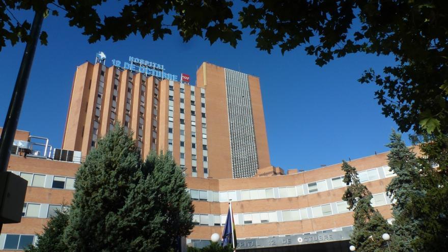 Imagen fachada principal del Hospital 12 de Octubre