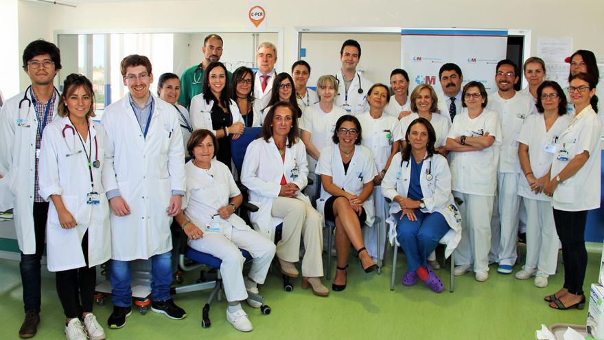 Profesionales del Servicio de Nefrología del  Hospital Clínico San Carlos