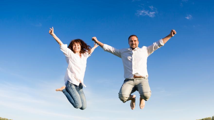 Salto de alegria