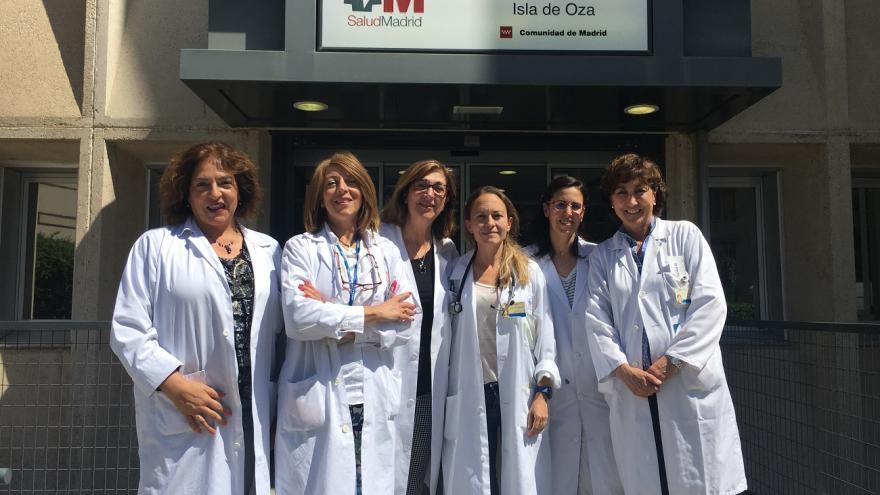 Profesionales tutores del Centro de Salud Isla de Oza de Madrid