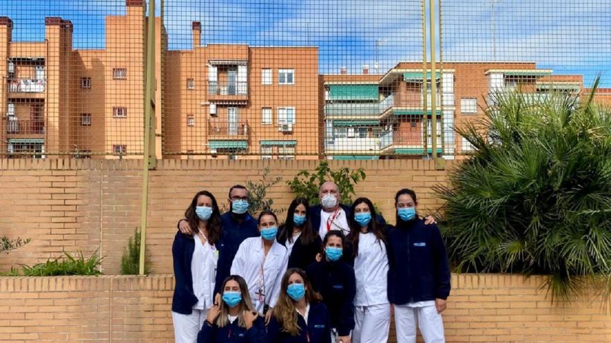 La Unidad de Atención a Residencias de la Dirección Asistencial Centro elabor un procedimiento vacunal