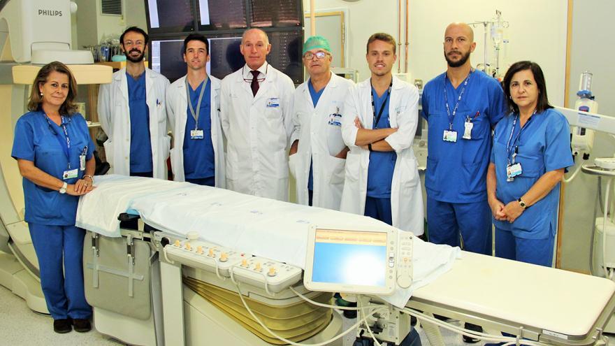 Unidad de Neurorradiología Intervencionista del Hospital Clínico San Carlos