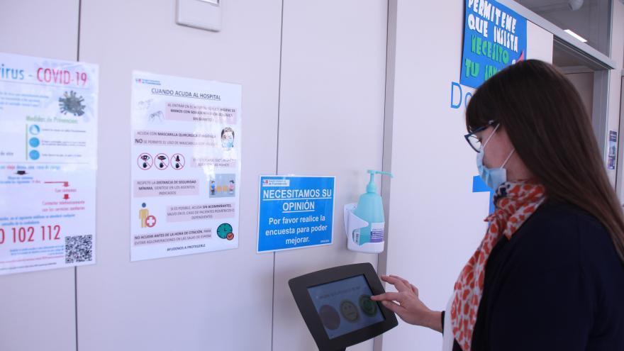Los usuarios del Hospital Universitario de Fuenlabrada se muestran satisfechos con la atención sanitaria recibida