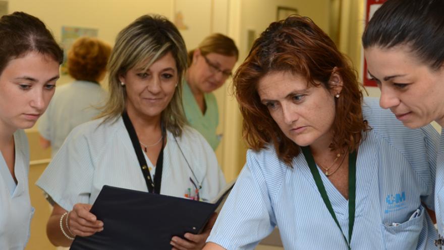 Enfermeras residentes comparten conocimiento