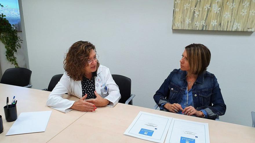 Recibimos la visita de la nueva concejala-presidenta del Distrito de Villa de Vallecas