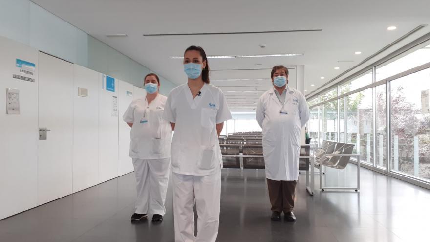 Profesionales del Centro de Salud Sanchinarro