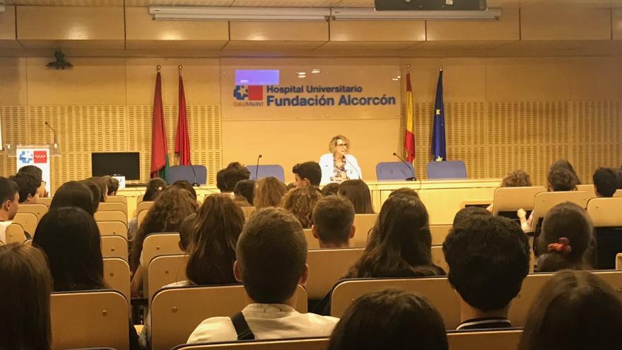 Ana Isabel Díaz Cuasante, presidenta del Comité  Prevención del tabaquismo