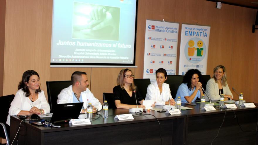 El Hospital Infanta Cristina acoge una jornada sobre la humanización en los centros sanitarios