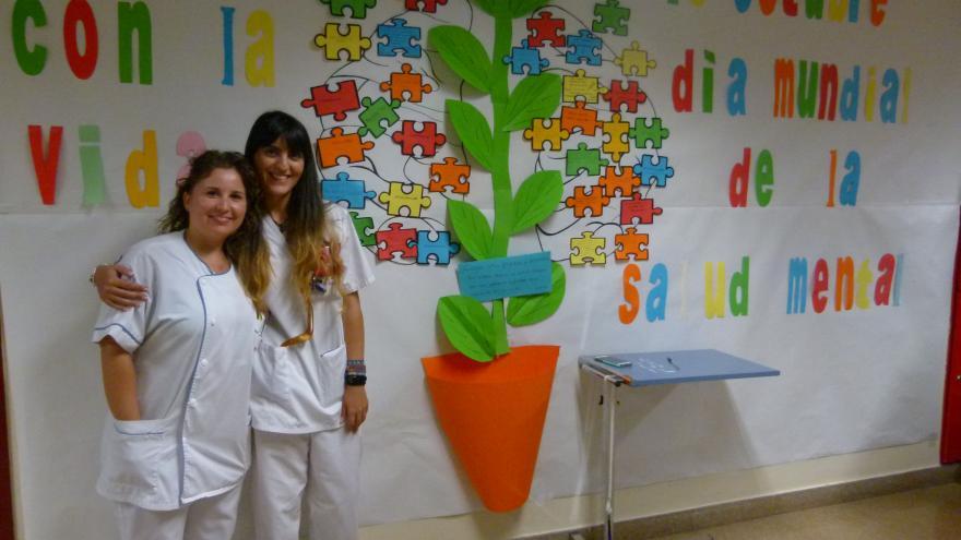 Miriam Fornos Toribio y Nuria Sanchez Pacheco.