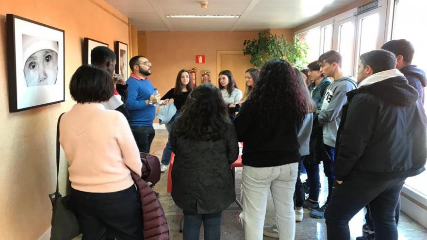 Grupo de alumnos asistentes