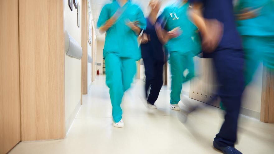 Personal sanitario en situación de emergencia